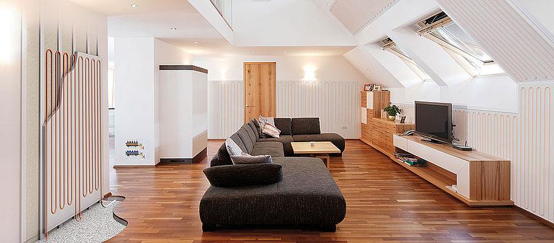 El sistema de calefacción / refrigeración de pared del módulo de Variotherm es calefacción, refrigeración y pared acabada en una.