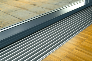 Variotherm trench heating systems