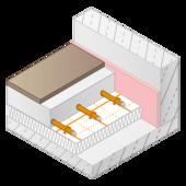 Die Variotherm Fußbodenheizung VarioRoll verwandelt jeden Raum in Kürze in wohlig warme vier Wände - die behagliche Wärme von unten.