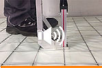 For an even simpler and quicker installation of the VarioClip floor heating system the laying device has been optimised