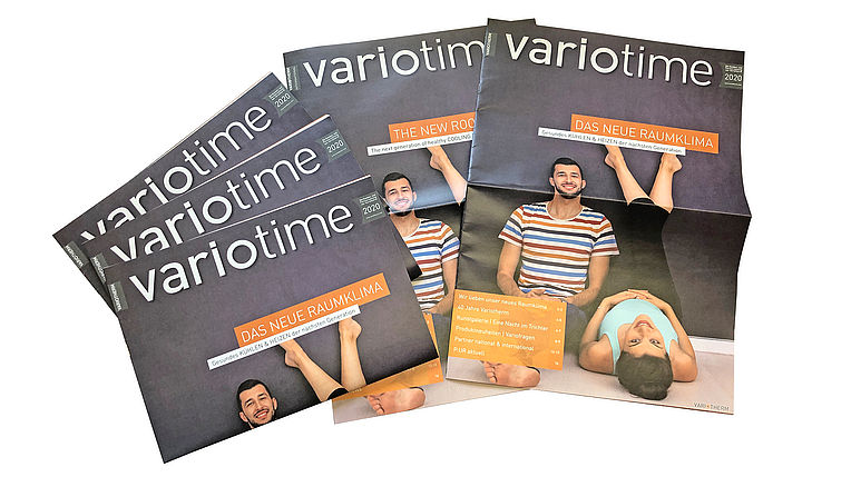 Customer magazine of Variotherm: variotime