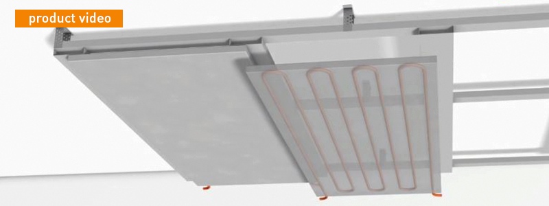 Drywall ceiling cooling: The healthy alternative to air