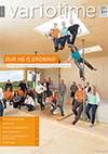 variotime: the magazine for Variotherm customers and partners about heating and cooling